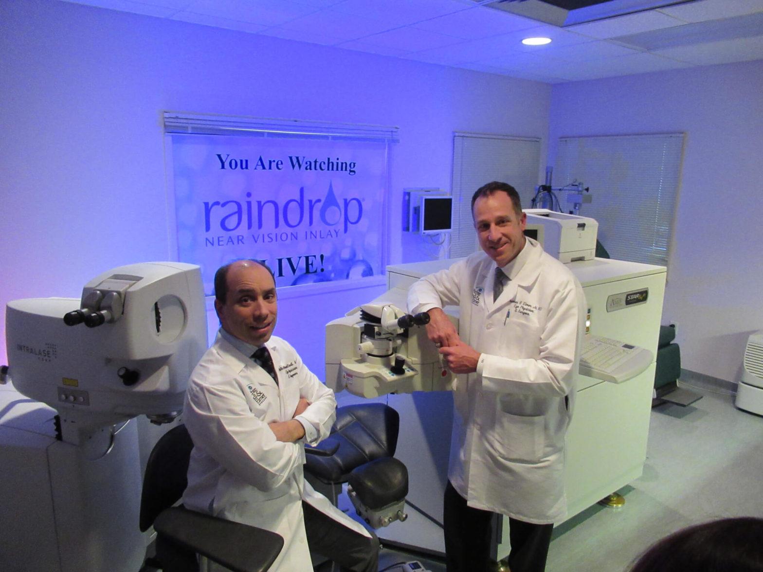 Dr. Endl and Elmer Raindrop Live